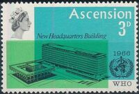 Ascension 1966 Inauguration of WHO Headquarters Geneva a