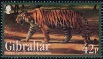 Gibraltar 2011 Endangered Animals f