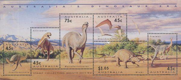 Australia 1993 Australia's Dinosaur Era h