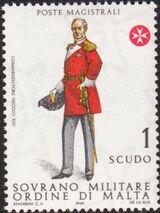 Sovereign Military Order of Malta 1969 Military Uniforms 1st Serie e