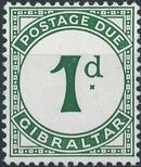 Gibraltar 1956 Postage Due Stamps a