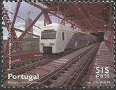 Portugal 1999 Inauguration of Rail Link Over 25th of April Bridge a