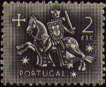 Portugal 1953 Definitives - Medieval Knight j
