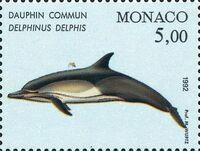 Monaco 1992 Musée Océanographique - Cétacés de la Méditerranée (1st Group) b
