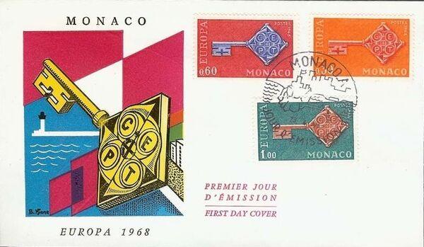 Monaco 1968 Europa f