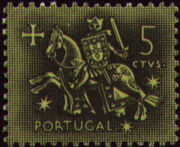 Portugal 1953 Definitives - Medieval Knight a