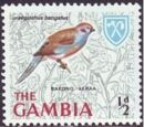 Gambia 1966 Birds