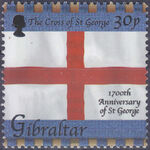 Gibraltar 2003 1700th Anniversary of St. George a