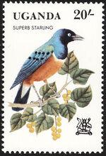 Uganda 1982 Birds b