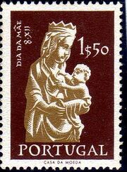 Portugal 1956 Mothers' Day b