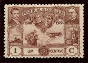 Portugal 1923 First flight Lisbon Brazil a