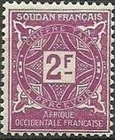 French Sudan 1931 Postage Due i