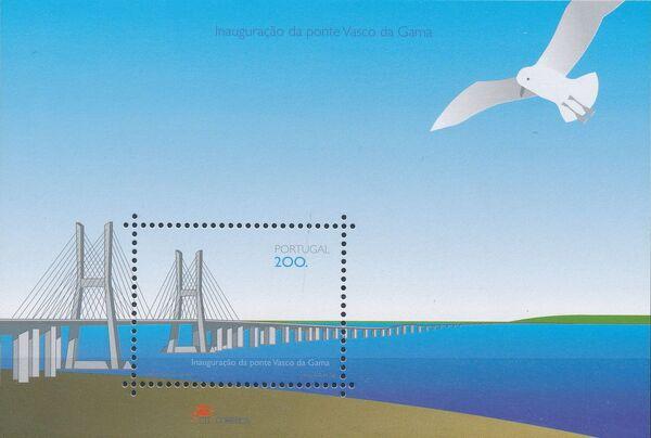Portugal 1998 Opening of the Vasco da Gama Bridge d