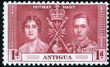 Antigua 1937 George VI Coronation a