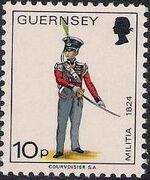 Guernsey 1974 Military Uniforms Definitive Issue m