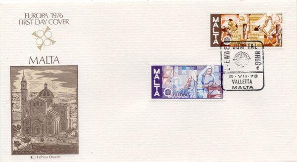Malta 1976 Europa h