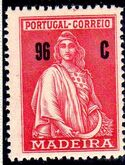 Madeira 1929 Ceres (London Issue) n