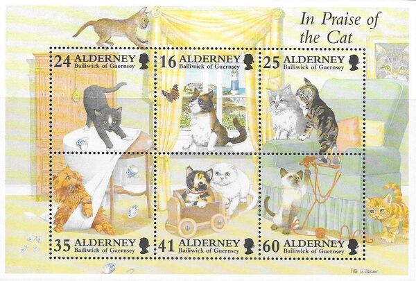 Alderney 1996 In Praise of the Cat h