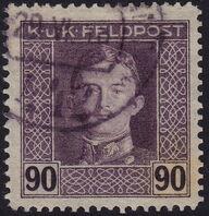 Austria 1917-1918 Emperor Karl I (Military Stamps) p