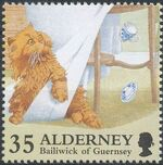 Alderney 1996 In Praise of the Cat d