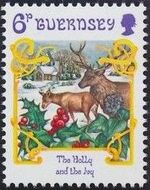 Guernsey 1986 Christmas d