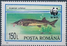 Romania 1994 WWF Sturgeons a
