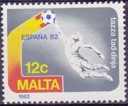 Malta 1982 F.I.F.A. World Cup - Spain b