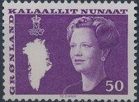 Greenland 1981 Queen Margrethe II a