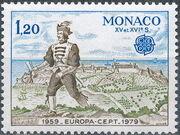Monaco 1979 EUROPA - Communications a