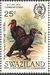 Swaziland 1985 WWF Southern Ground Hornbill (Audubon birth bicentenary) c