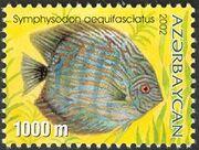 Azerbaijan 2002 Aquarian Fishes b