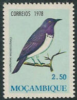 Mozambique 1978 Birds d
