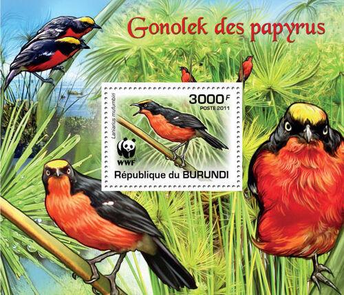 Burundi 2011 WWF Papyrus Gonolek n