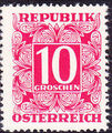 Austria 1949 Postage Due Stamps - Square frame with digit (1st Group) d.jpg