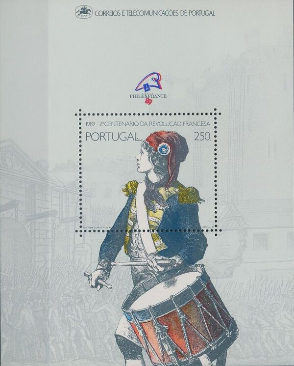 Portugal 1989 200th Anniversary of the French Revolution c