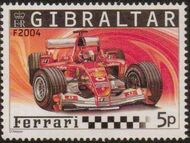 Gibraltar 2004 Ferrari Formula 1 Cars b