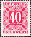 Austria 1949 Postage Due Stamps - Square frame with digit (1st Group) g.jpg