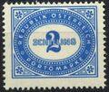 Austria 1947 Postage Due Stamps - Type 1894-1895 with 'Republik Osterreich' z.jpg
