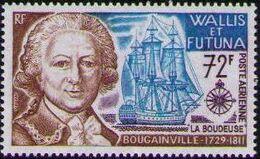 Wallis and Futuna 1973 Explorers and their Ships d