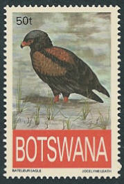 Botswana 1993 Endangered eagles c