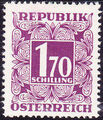 Austria 1949 Postage Due Stamps - Square frame with digit (1st Group) n.jpg