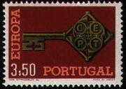 Portugal 1968 Europa 3$50