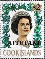 Aitutaki 1972 Flowers from Cook Islands Overprinted AITUTAKI k.jpg