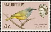 Mauritius 1965 Birds in Natural Colors c