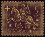 Portugal 1953 Definitives - Medieval Knight n