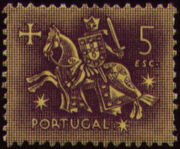 Portugal 1953 Definitives - Medieval Knight n