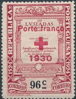 Portugal 1930 Red Cross - 400th Birth Anniversary of Camões c