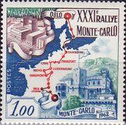 Monaco 1962 31th Monte Carlo Automobile Rally a