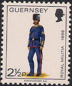 Guernsey 1974 Military Uniforms Definitive Issue e