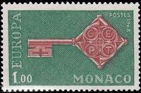 Monaco 1968 Europa c